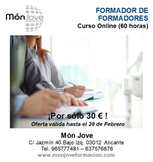 publicidad FORMADOR DE FORMADORES febrero